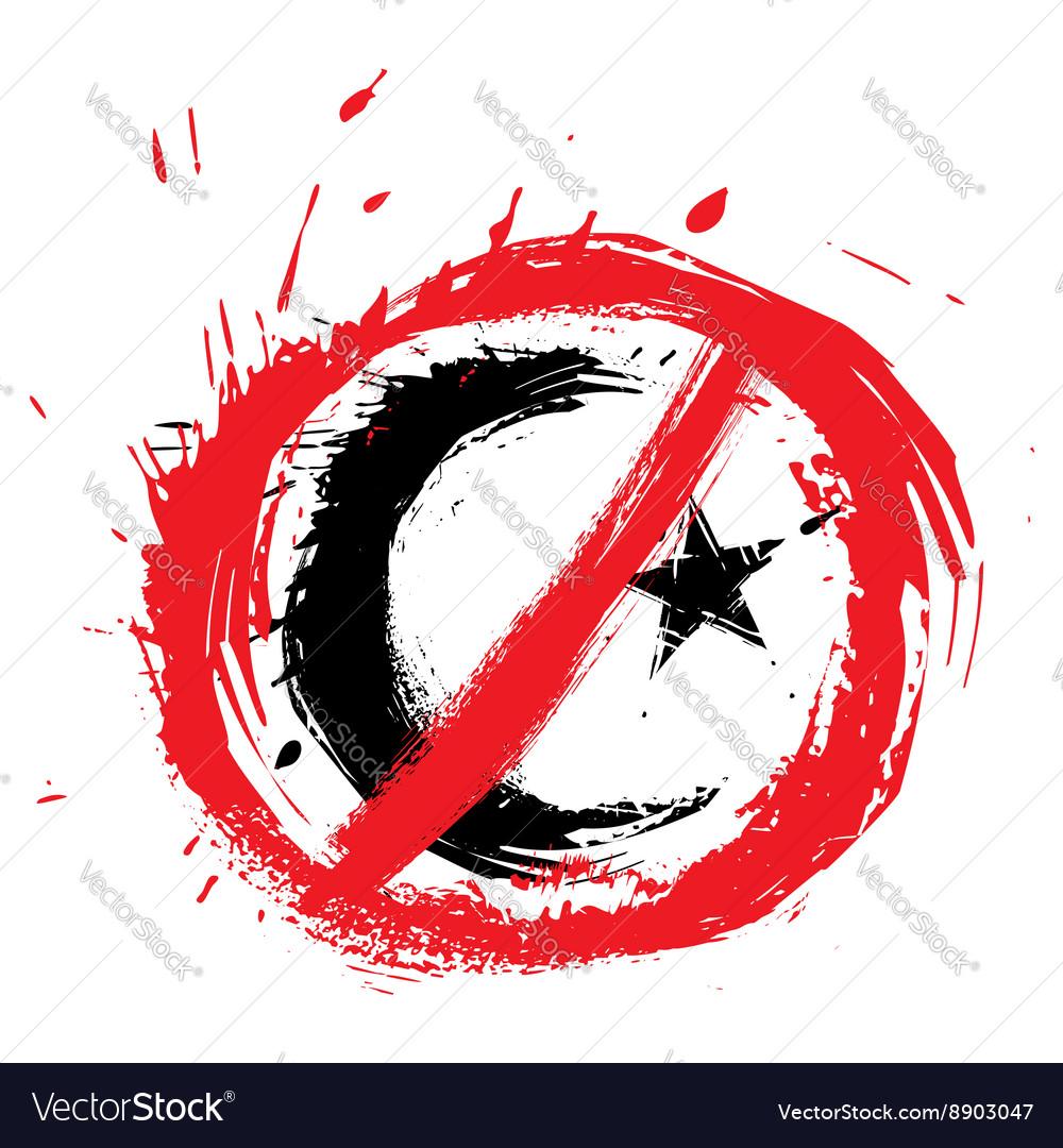 No islam symbol