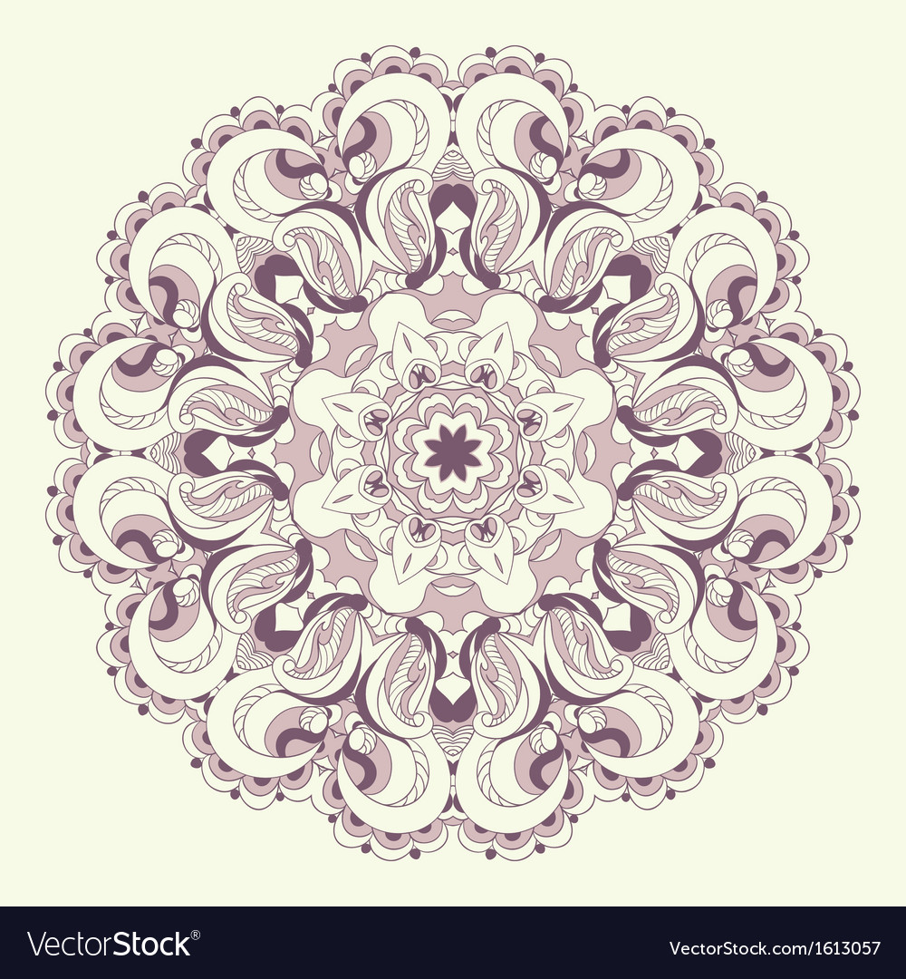 Beautiful purple lace pattern background