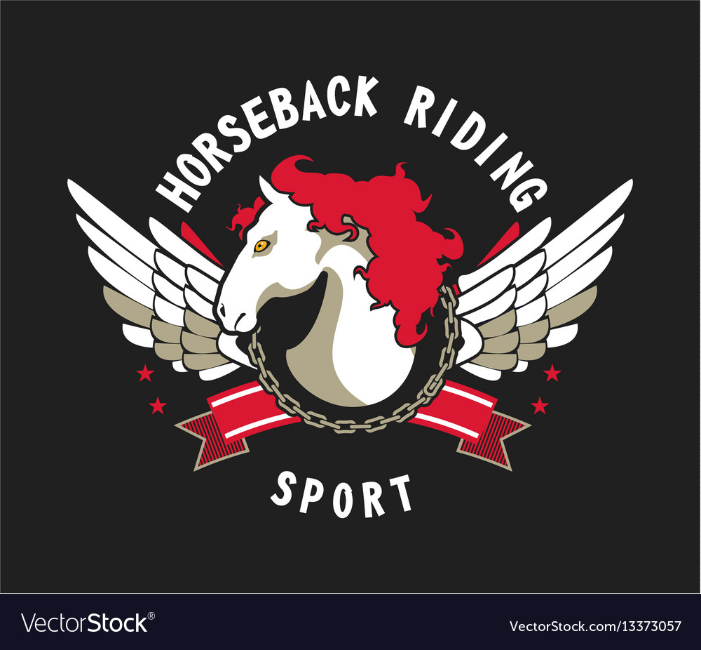 Horse sport sign