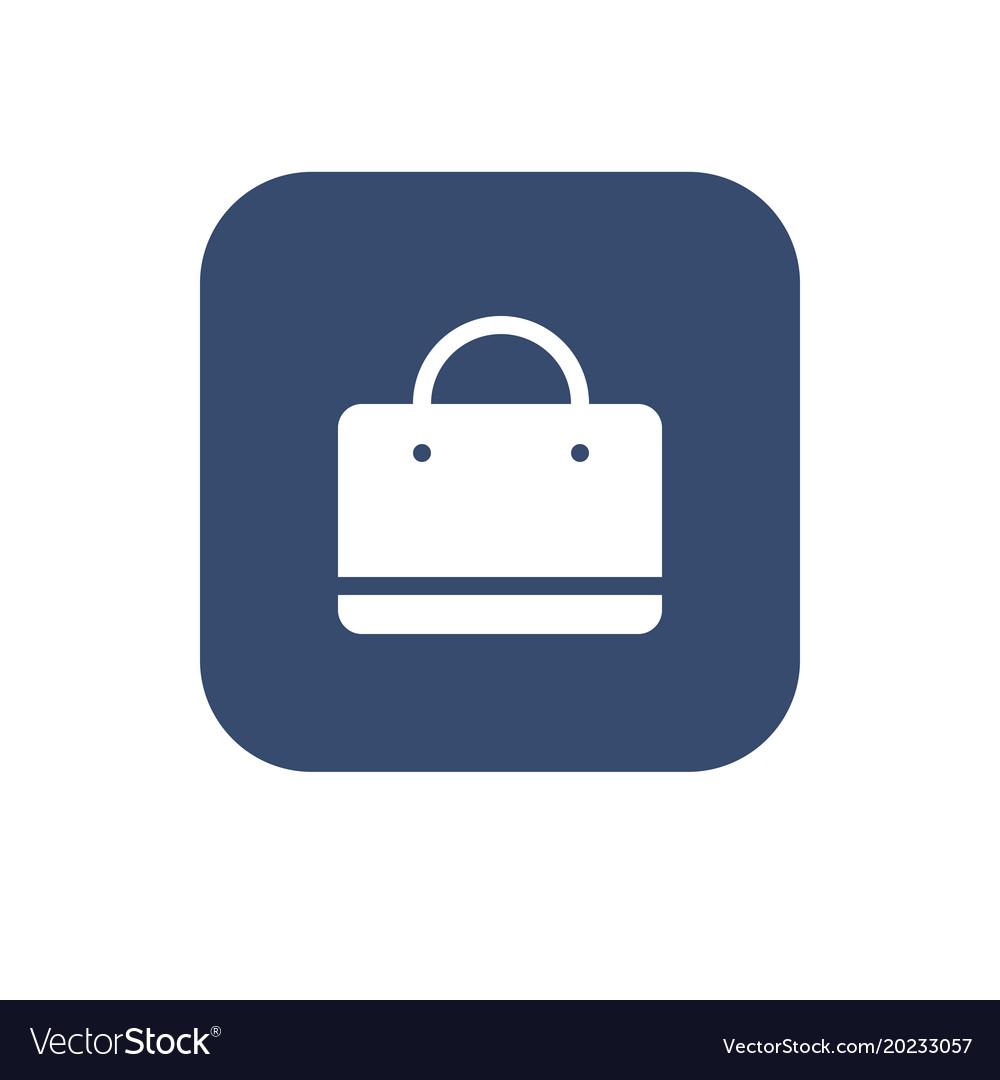 Shopping bag - icon
