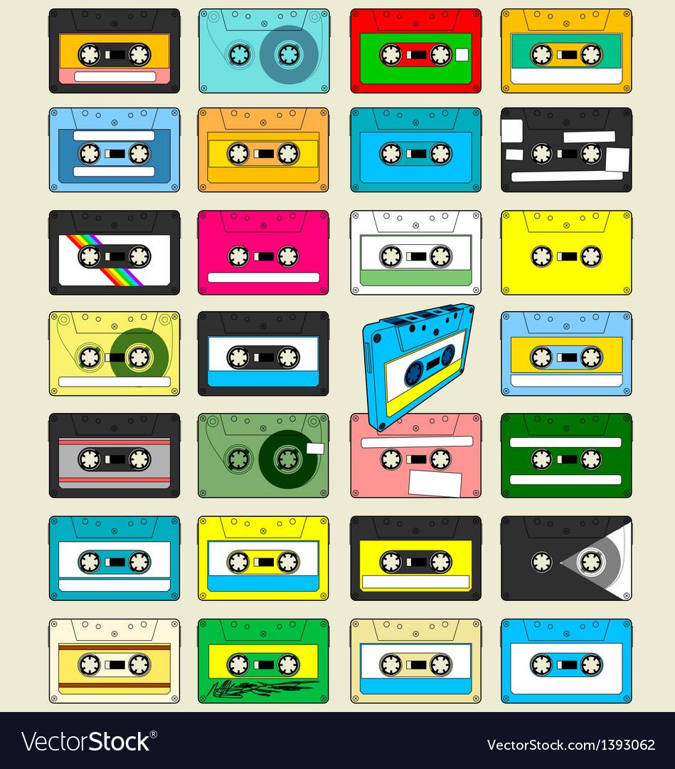 Audio Cassette Tape Wallpaper