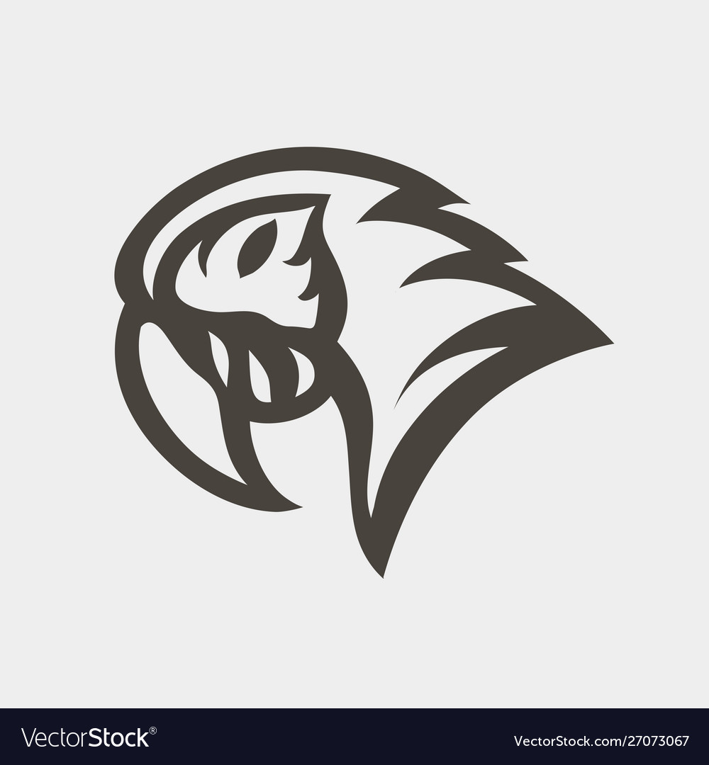 Macaw logo icon design