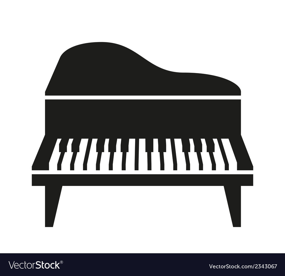 Piano Royalty Free Vector Image