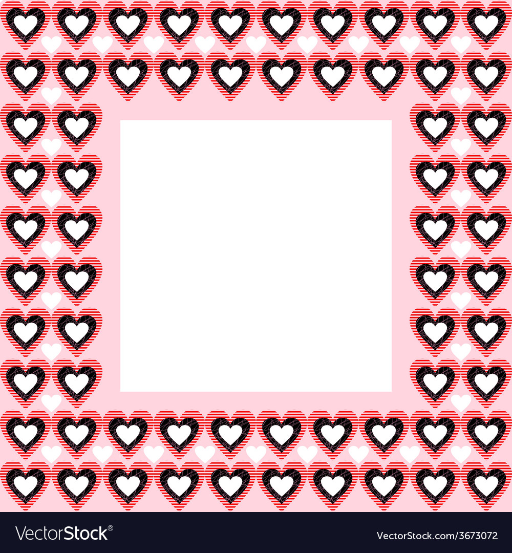 Frame from Hearts and Place for Your Text