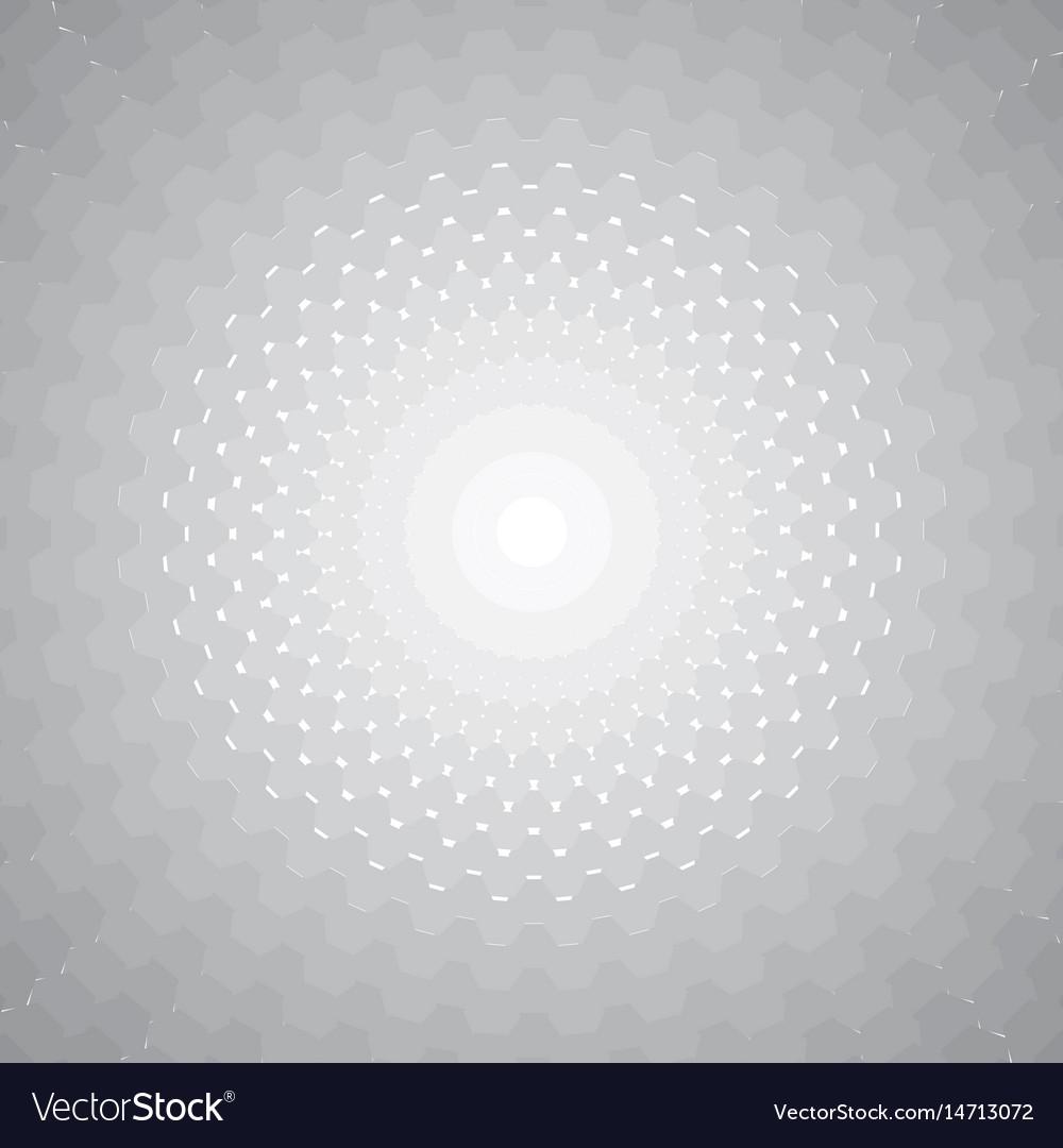 Hexagon halftone