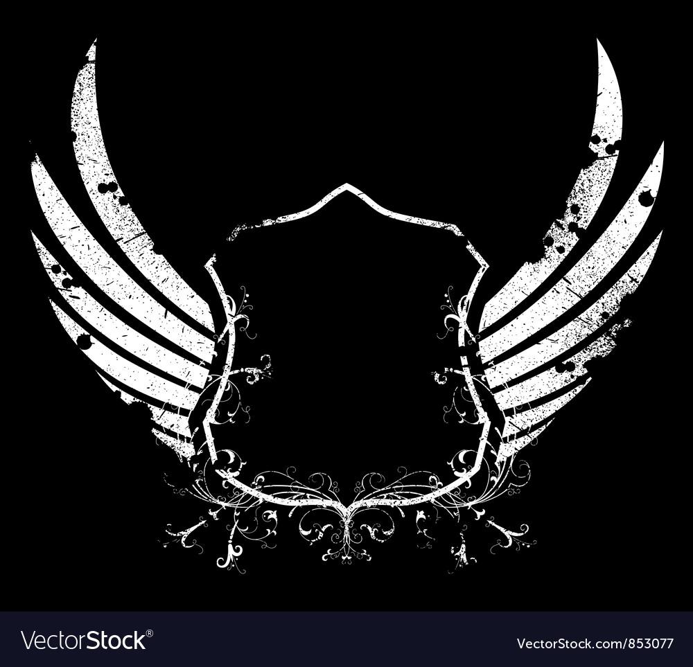 Grunge emblem