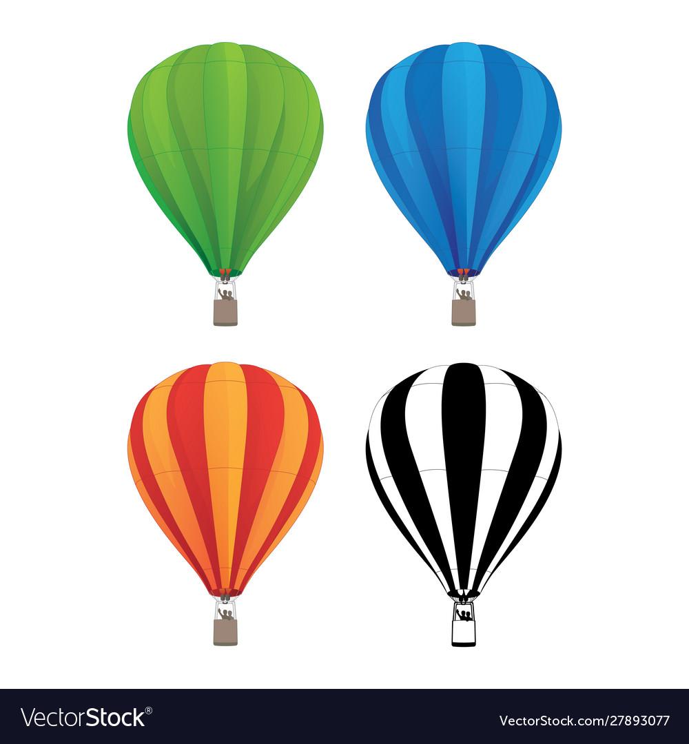 Hot air balloon set