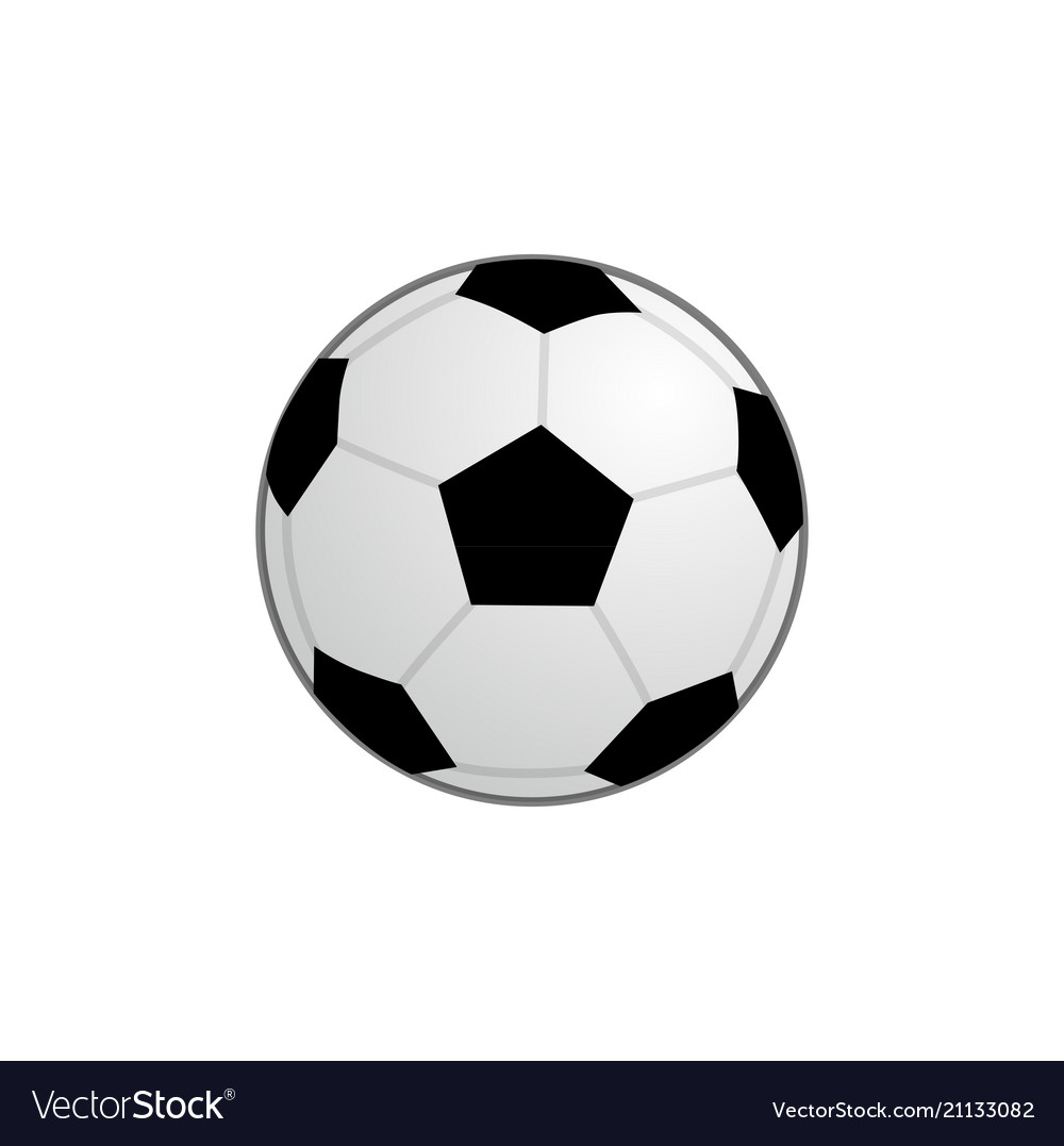 Basic football ball icon clipart