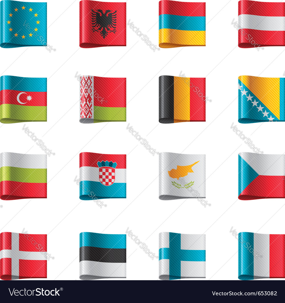 Flags - europe part 1