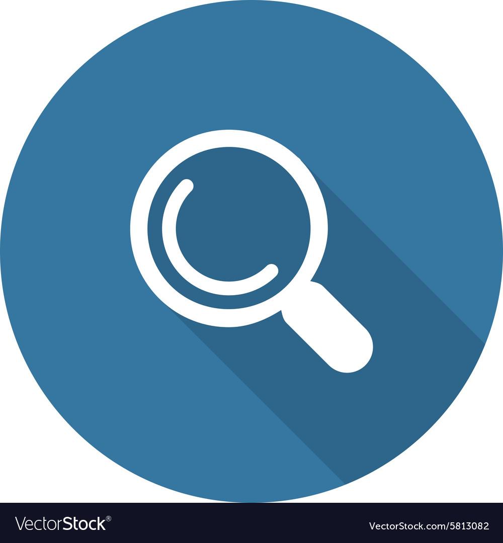 Search Icon Flat Design
