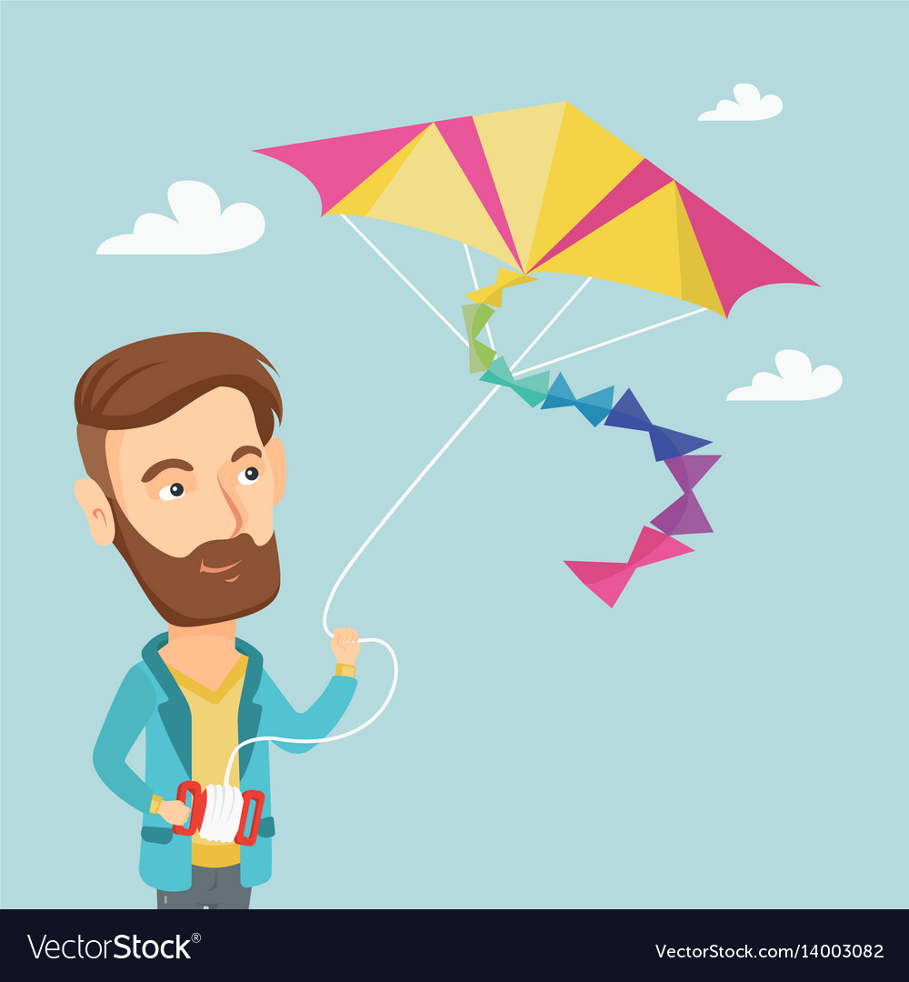 Image result for PICTURES OF man flying kite