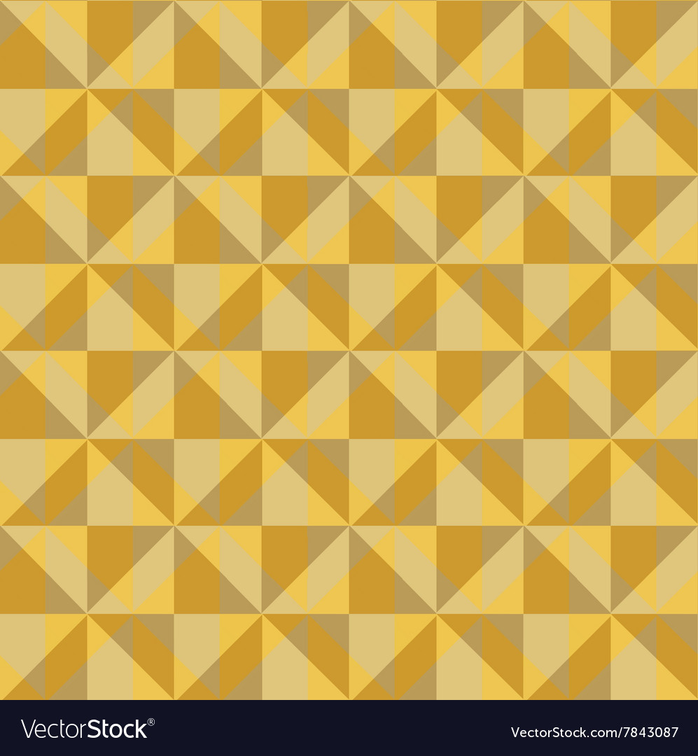 Pattern of yellow beige squares