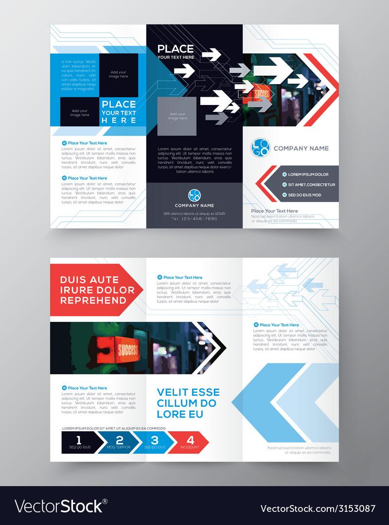 Tri fold Brochure Flyer design layout template