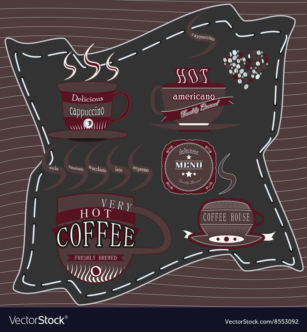 Logo coffee chocolate