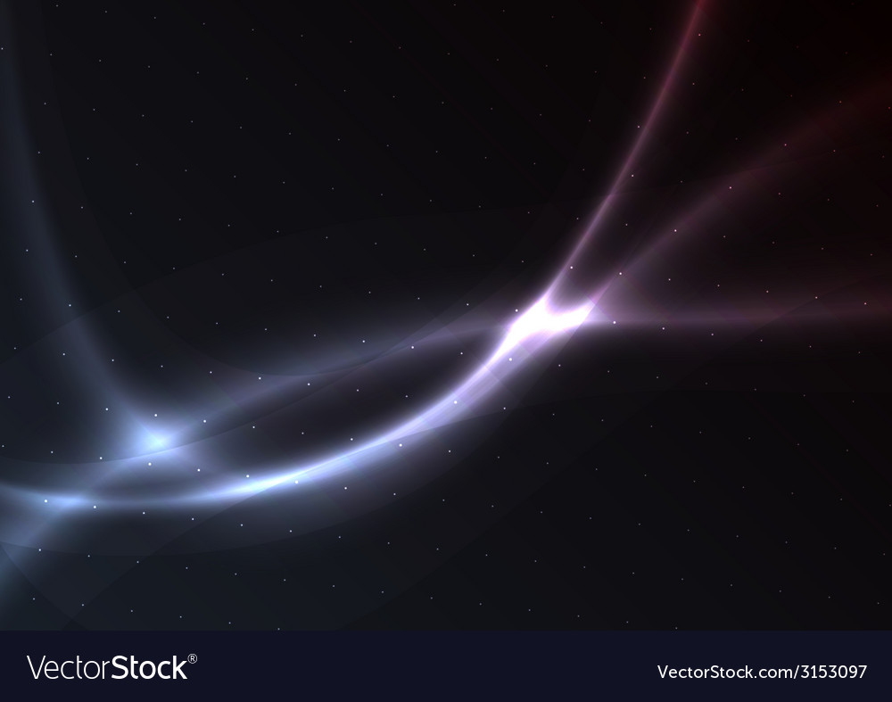 Background of the curves vector image