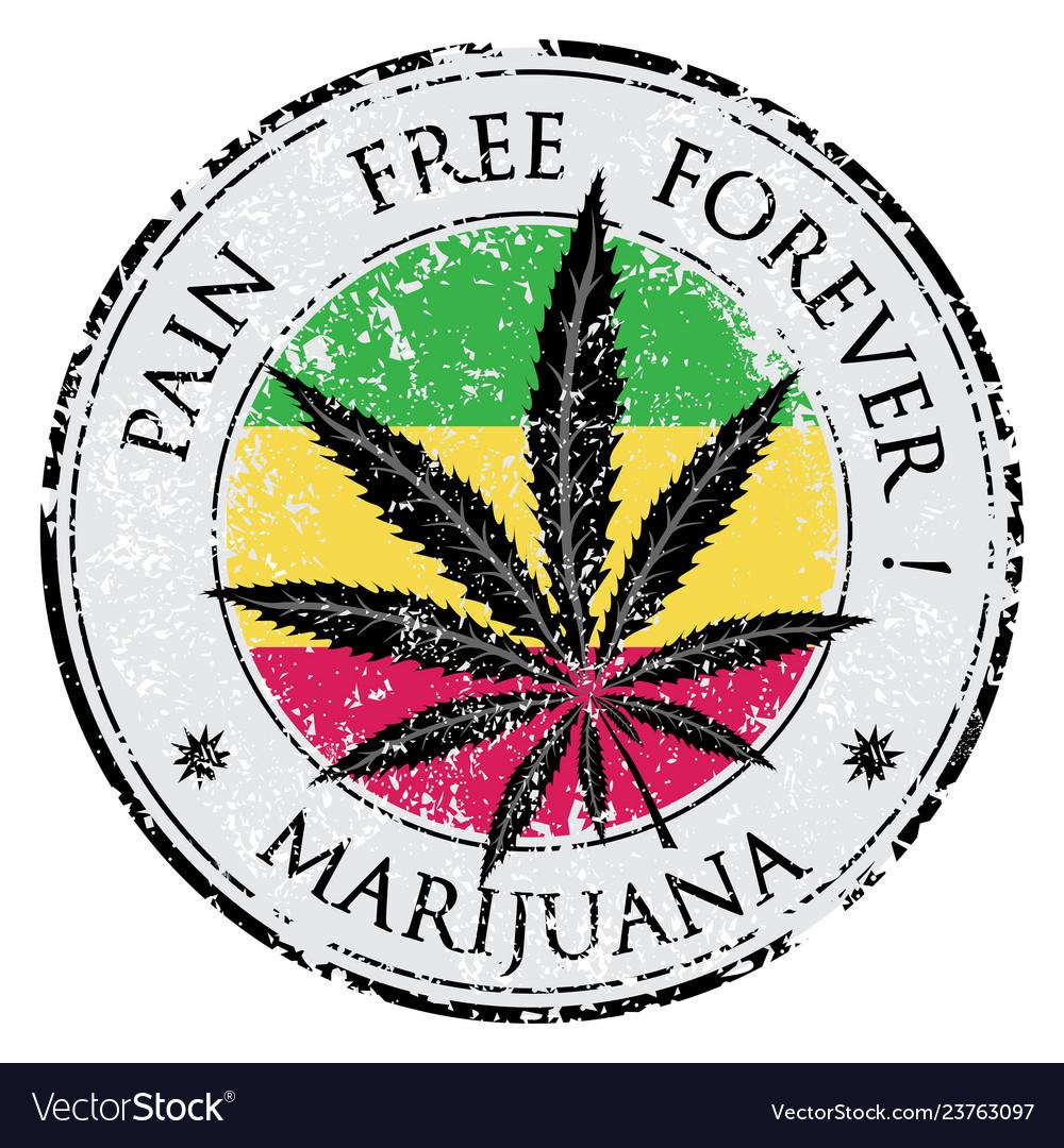 Cannabis or marijuana leaf grunge design in