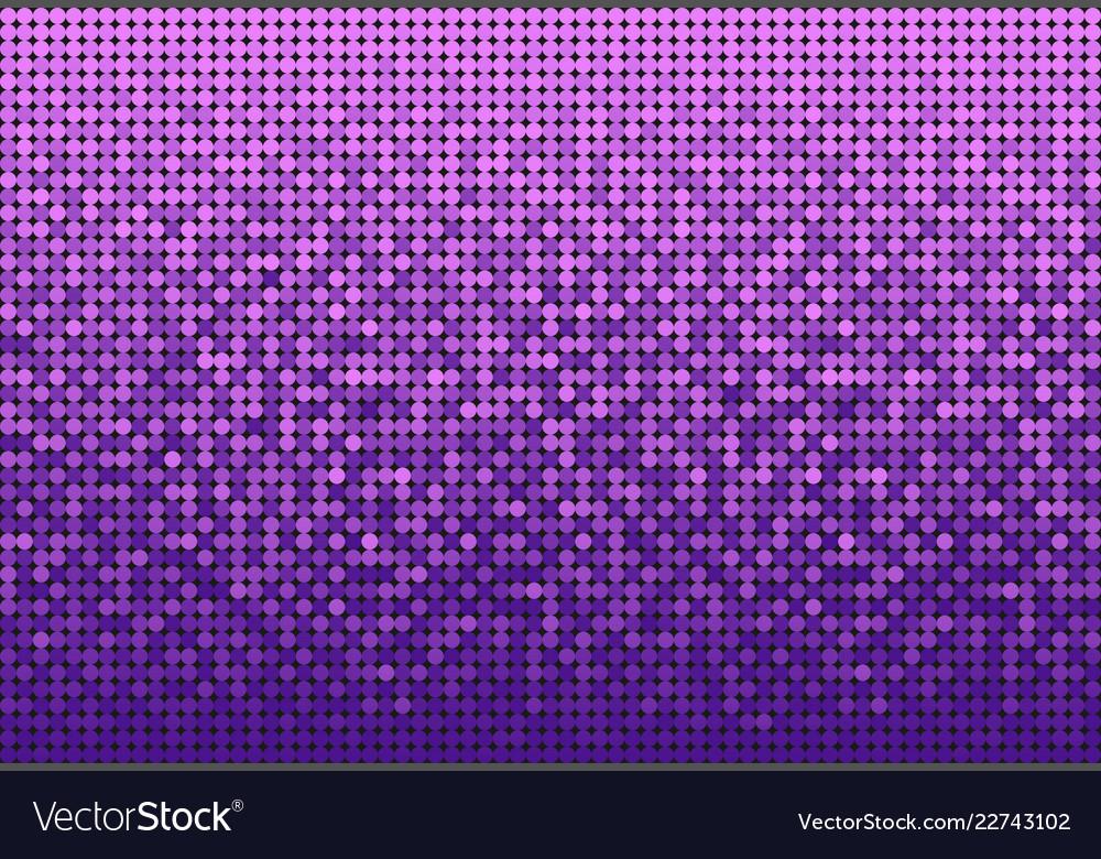 Banner purple sequins glitter sparkle stars glow
