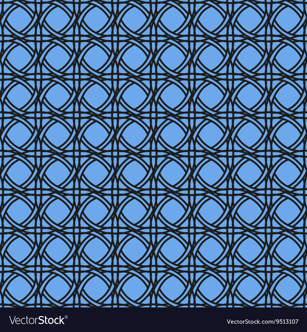 Knitted blue background