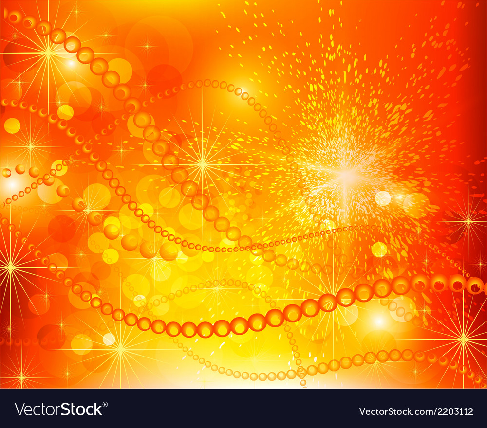 Abstract Red Yellow Background Royalty Free Vector Image