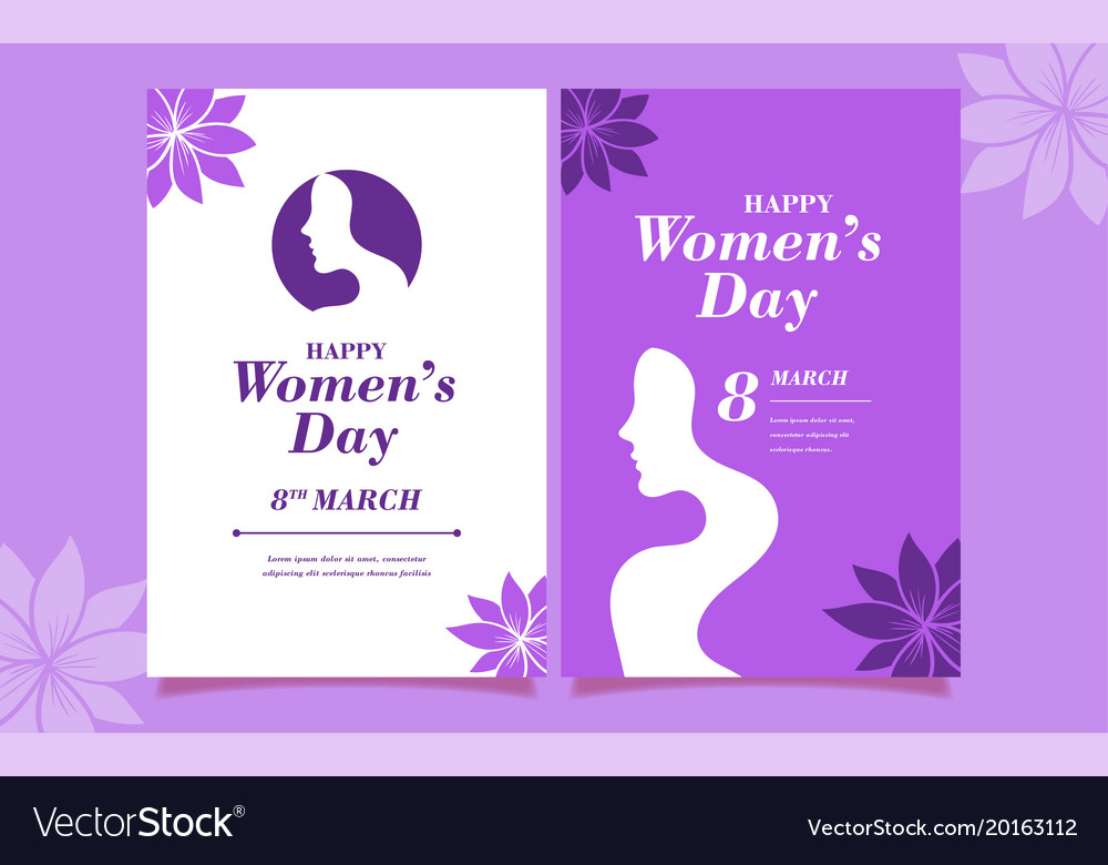 International woman s day design happy women s day