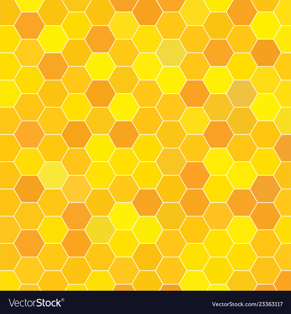 Abstract honeycomb pattern geometric background