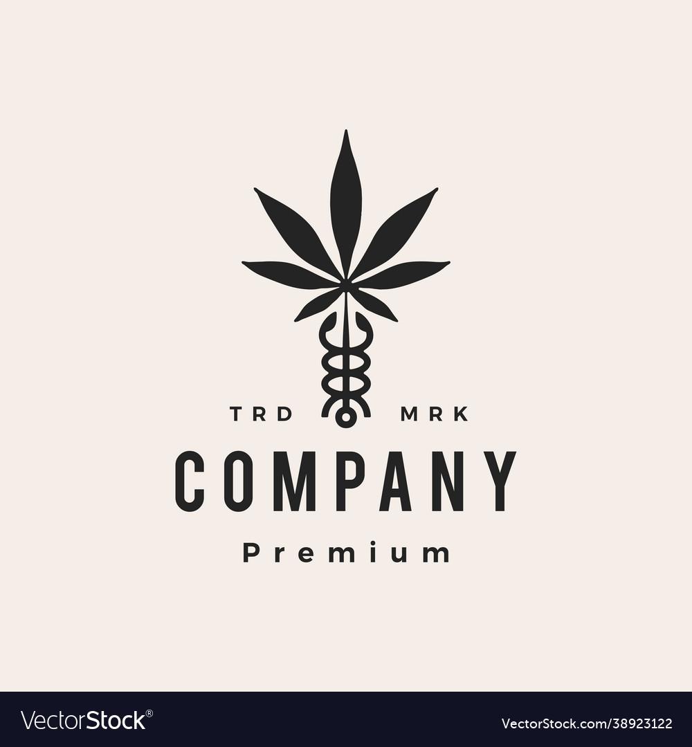 Caduceus cannabis medical pharmacy hipster