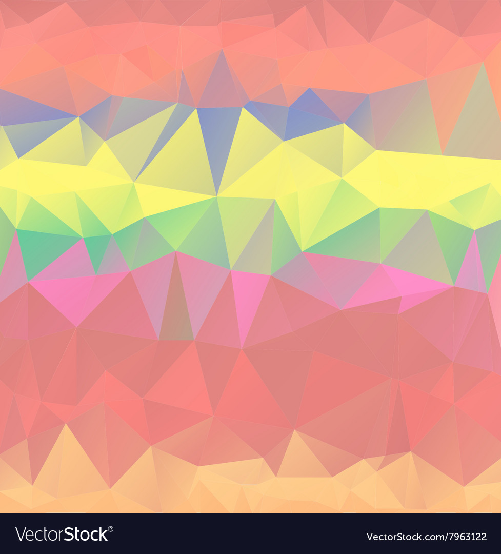 Color geometric patternbackground