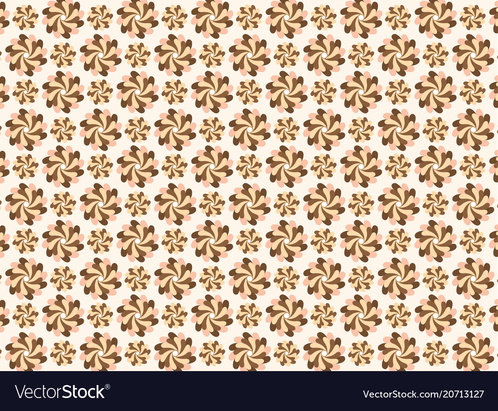 Modern line pattern chocolate colors