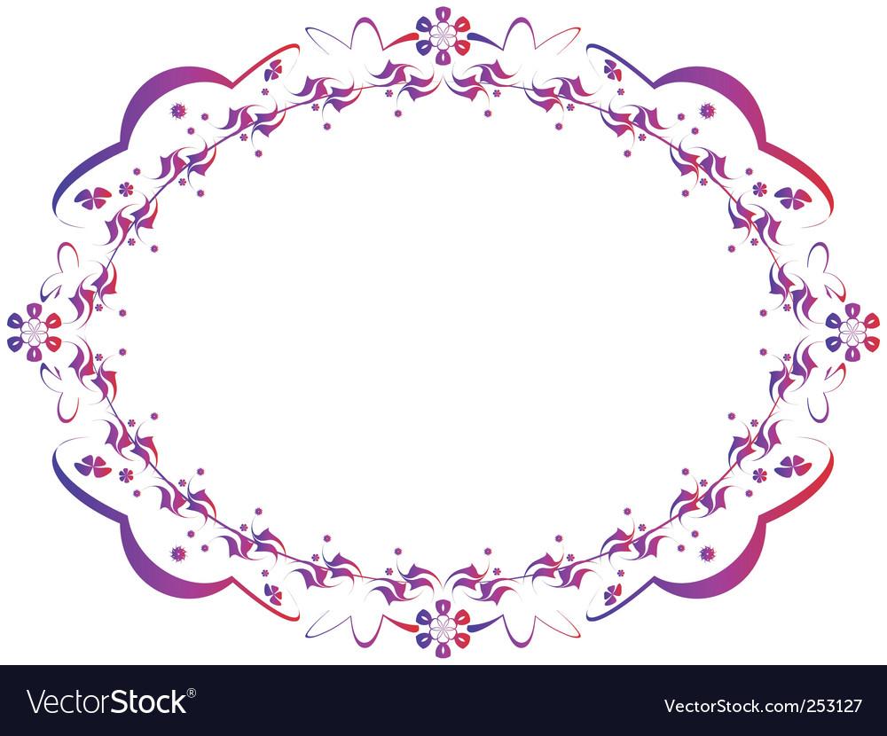 World frame vector image