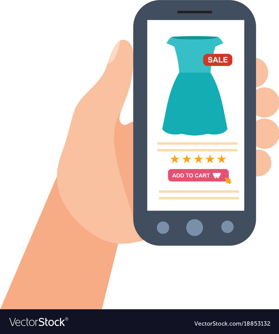 E-commerce purchasing mobile shopping service