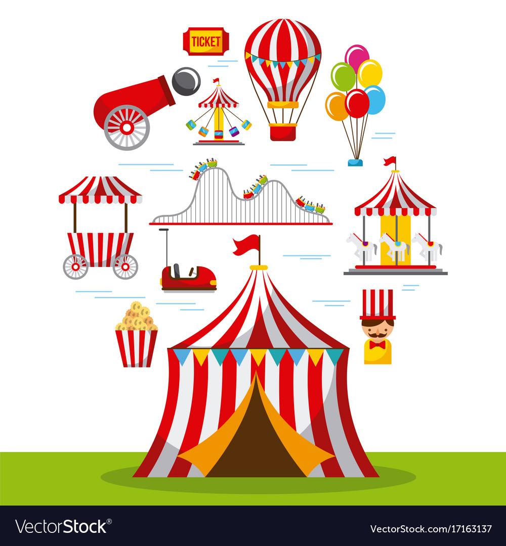 Carnival fun fair festival circus park