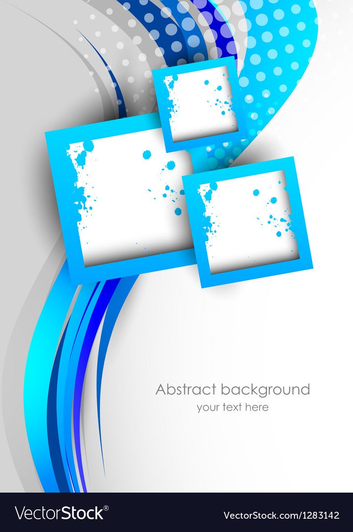 Abstract background in blue color