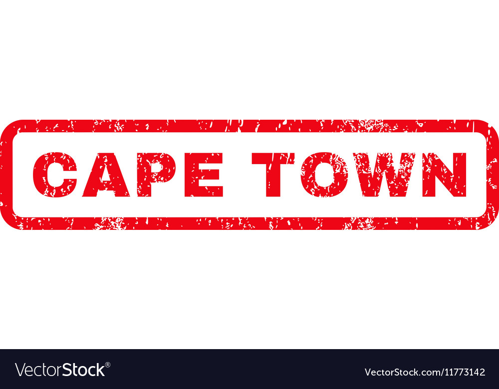 Cape Town Rubber Stamp