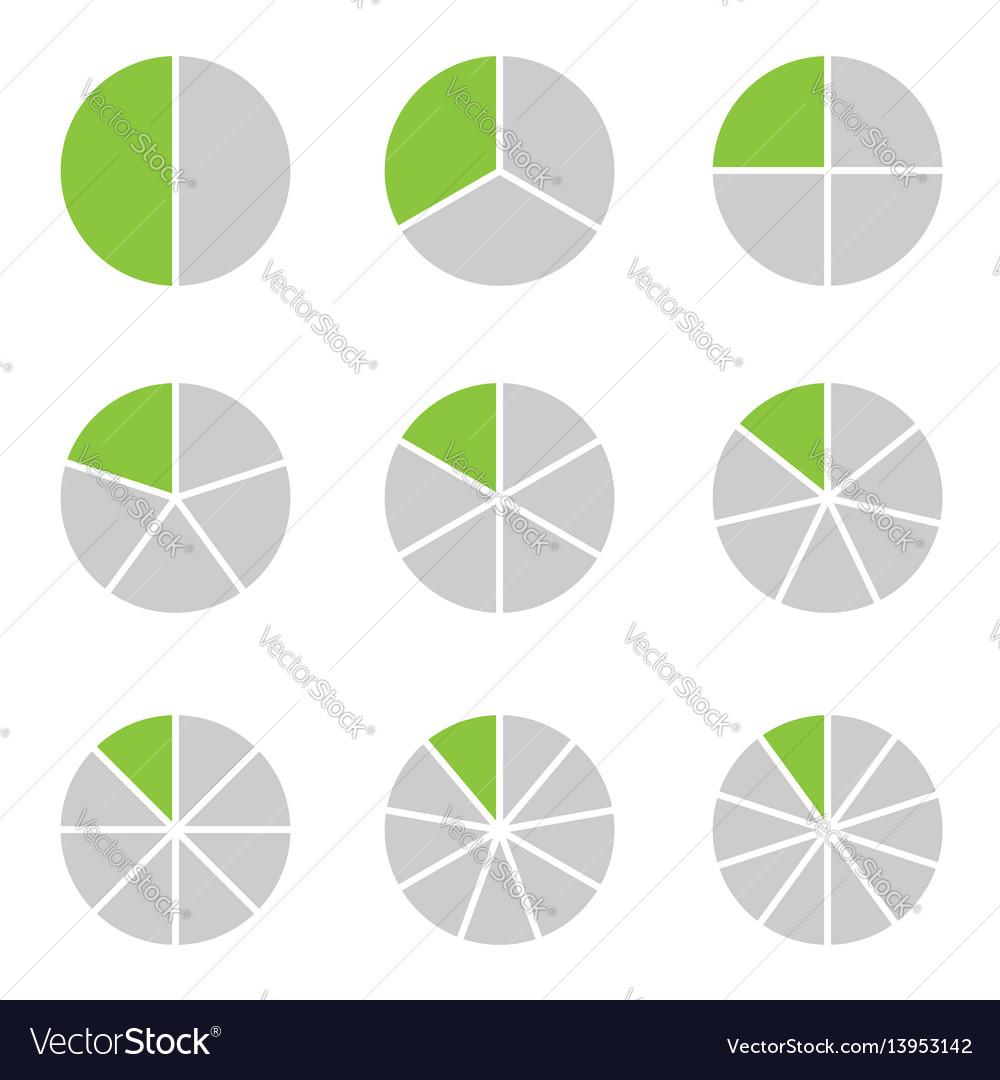 Circle segment set