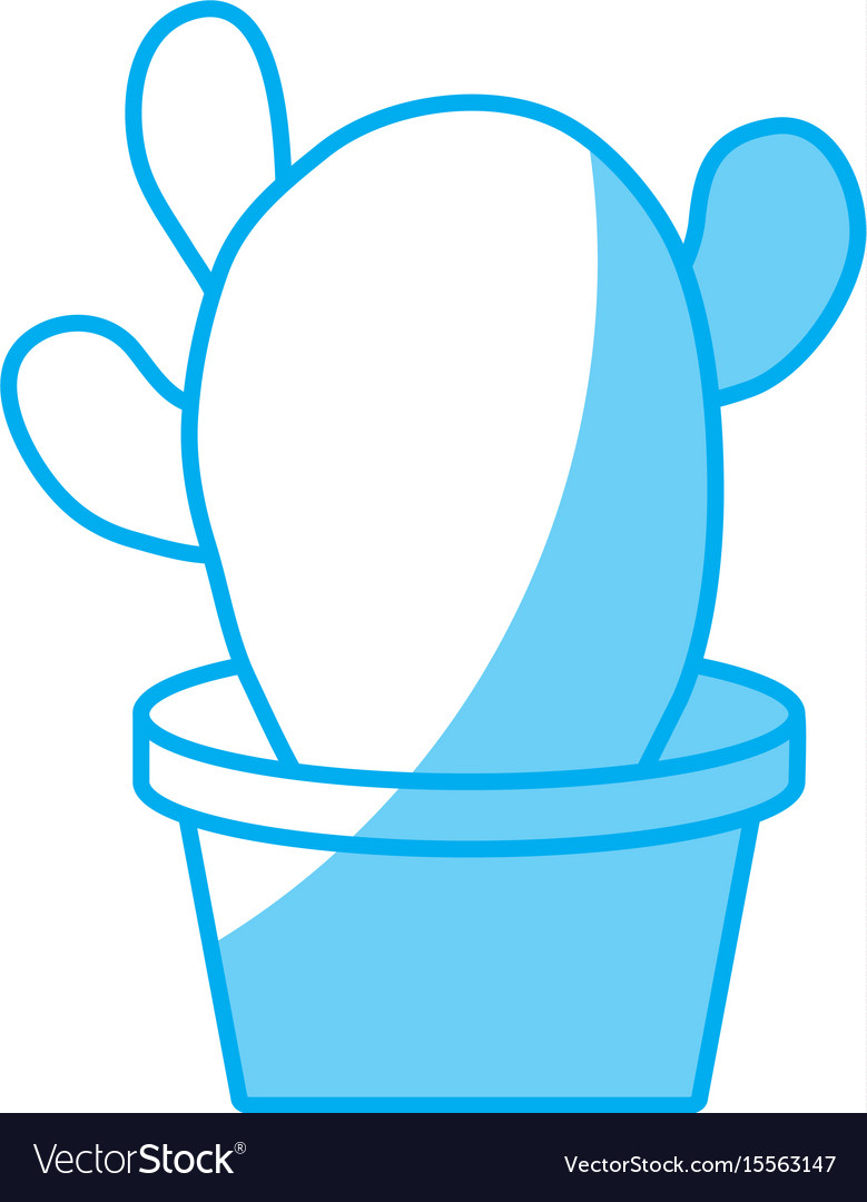 Cactus in a pot icon