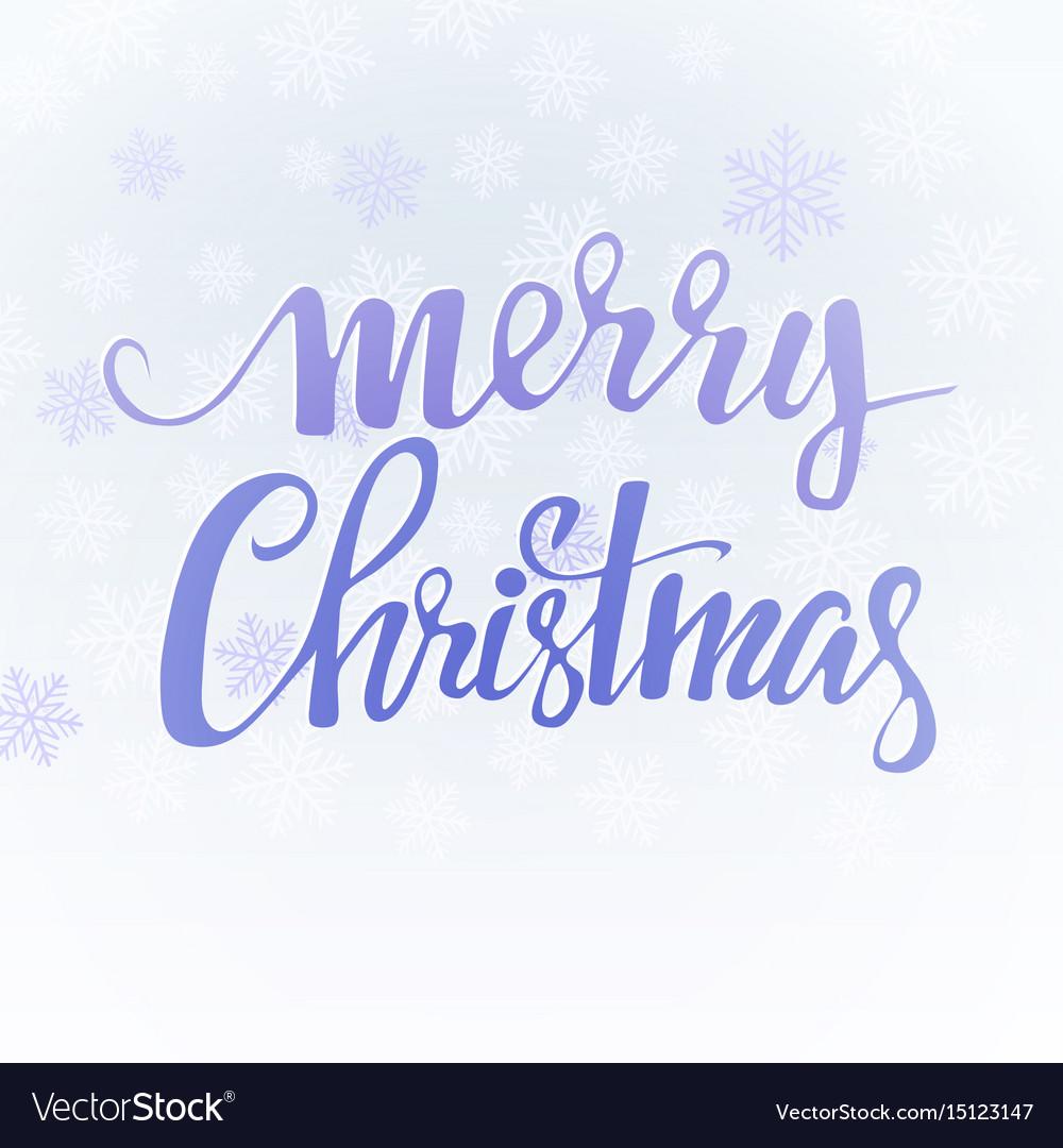 Snowflake background holiday backdrop