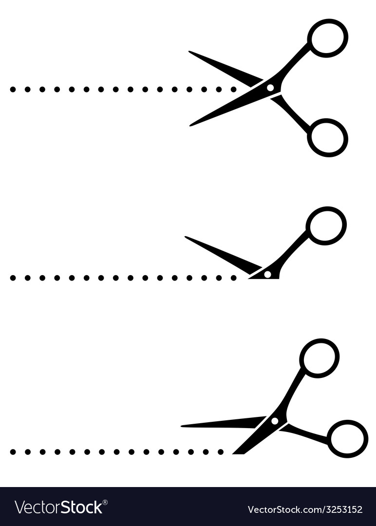 Cutting scissors and points