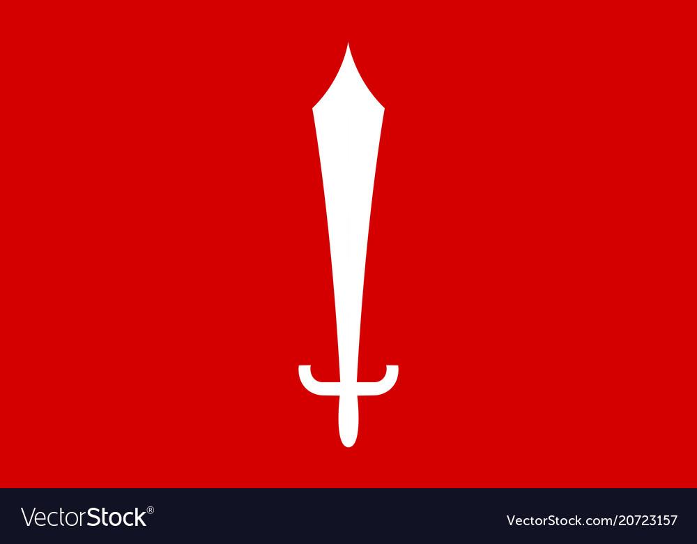 Flag of kathmandu nepal