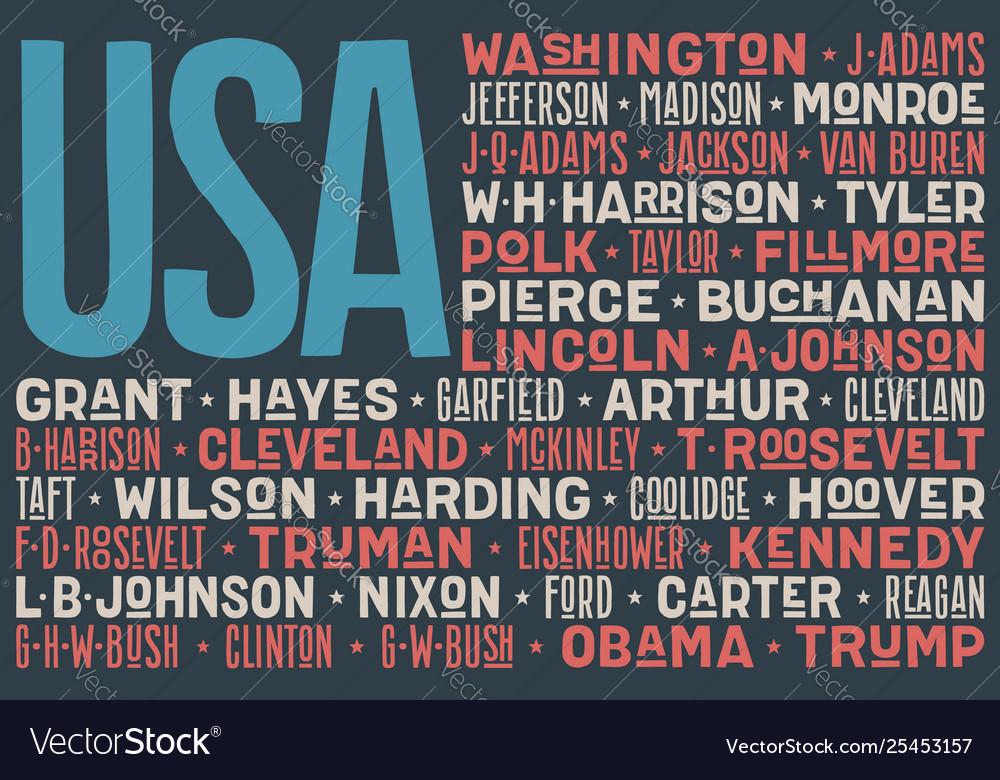 Flag usa poster united states america