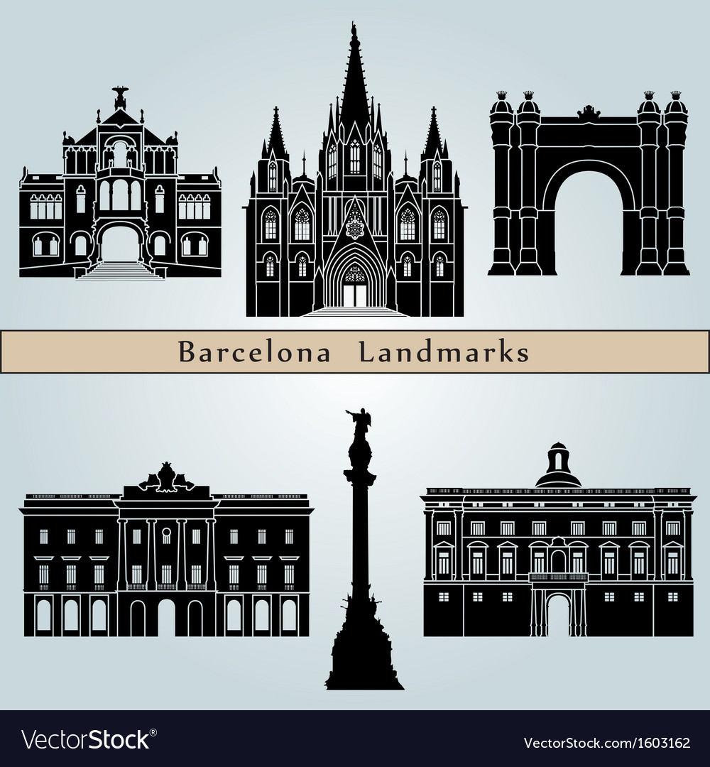 Barcelona landmarks and monuments