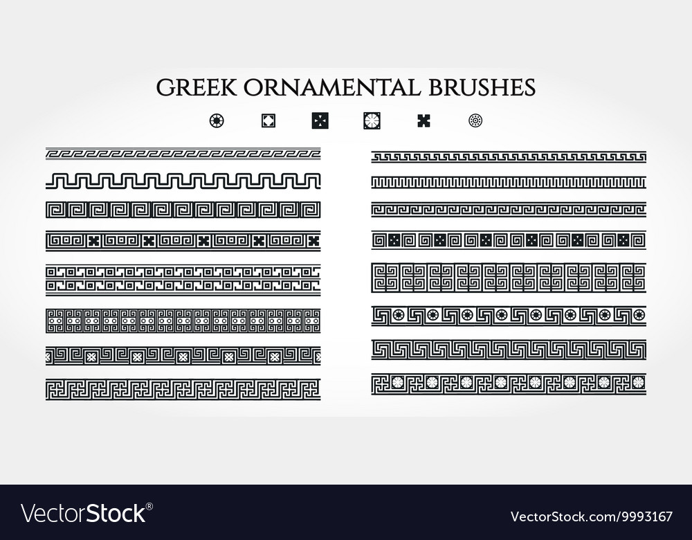Greek Ornament Border