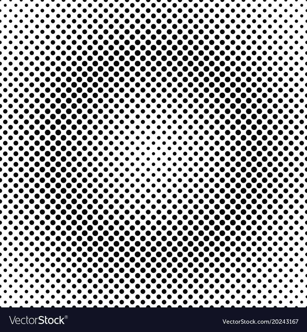 Halftone dotted pattern background design vector image