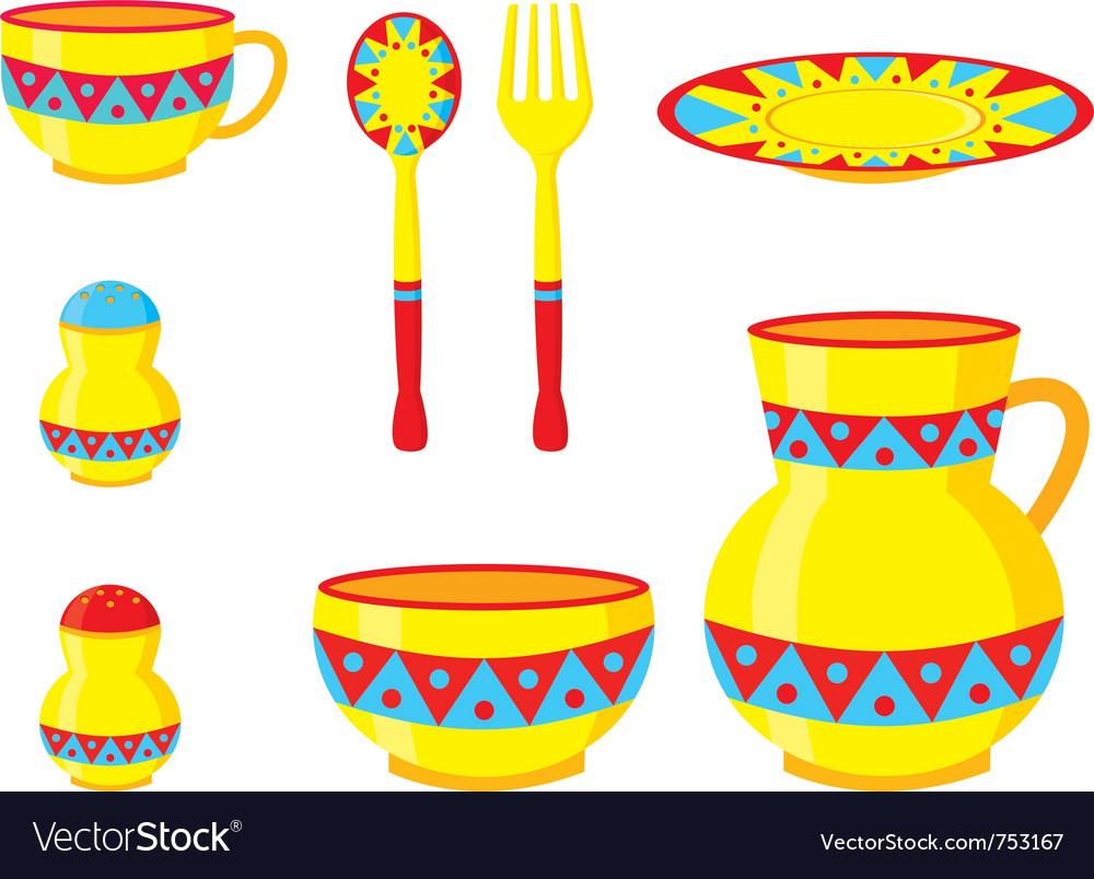 Tableware ornaments