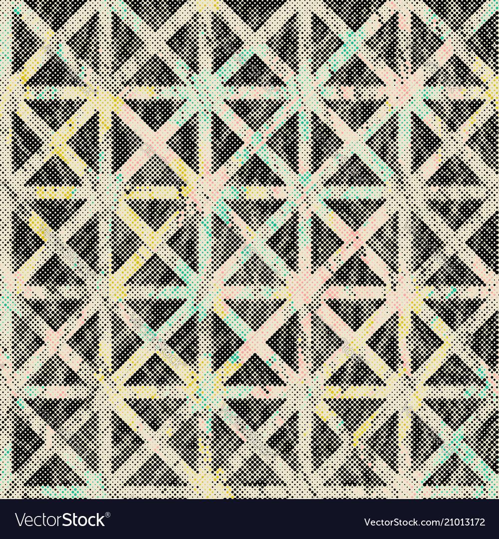 Halftone graphic pattern