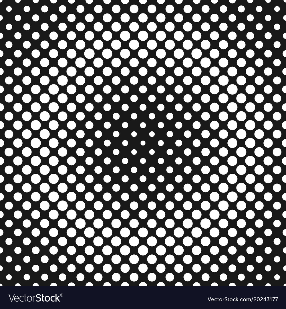 Abstract halftone dot pattern background from vector image