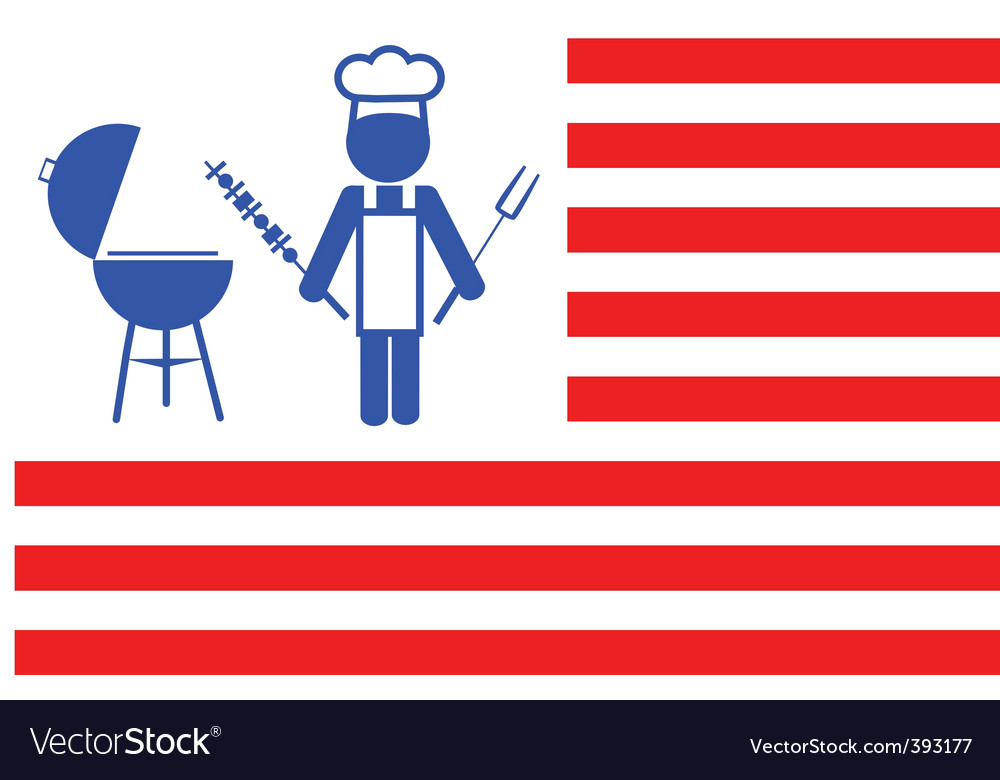 Flag of barbecue