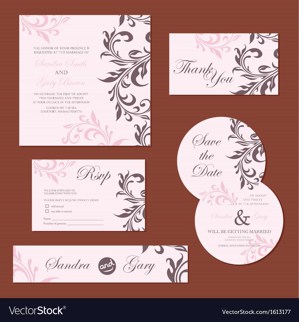 Wedding set pink copy