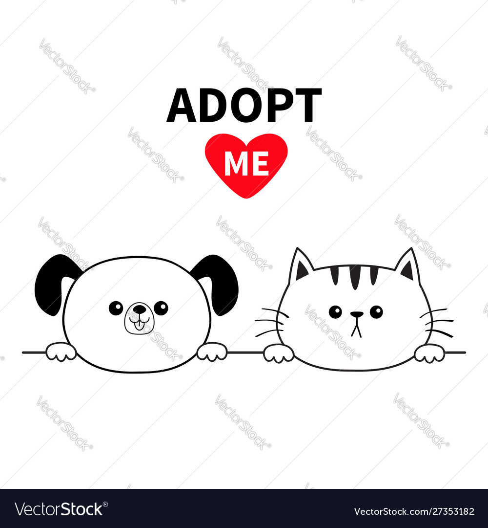 Adopt me dog cat head face hands paw holding