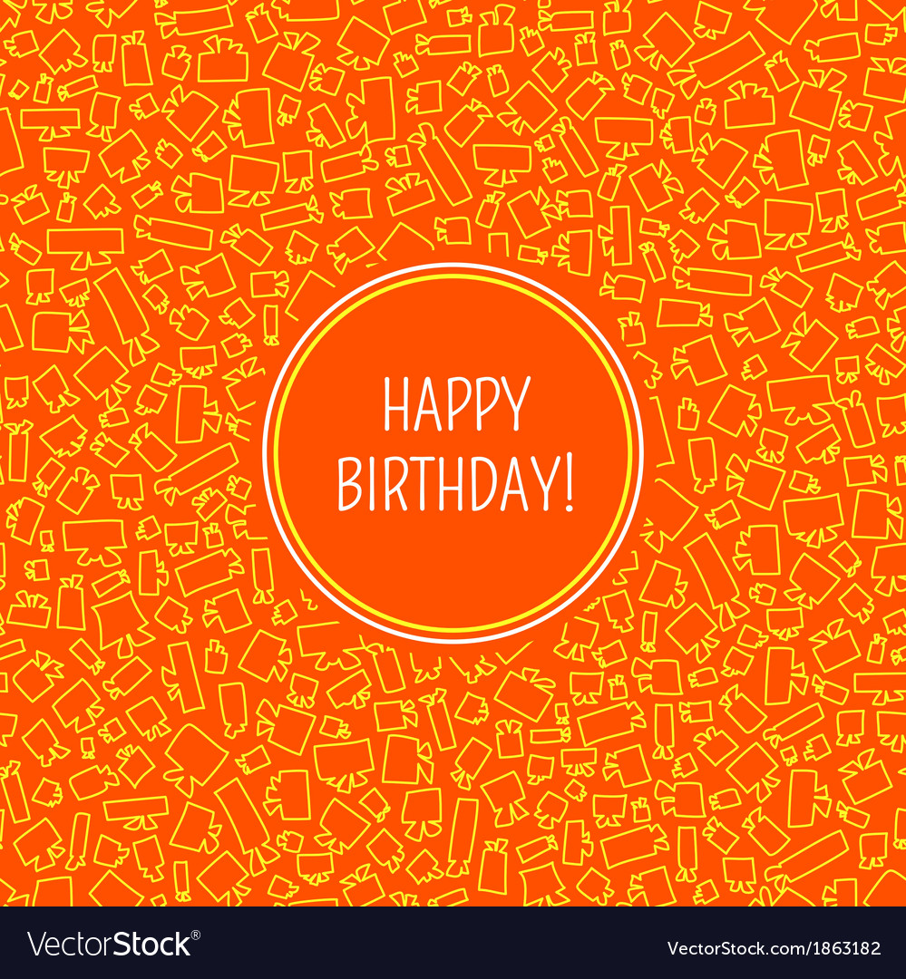 Card with birthday