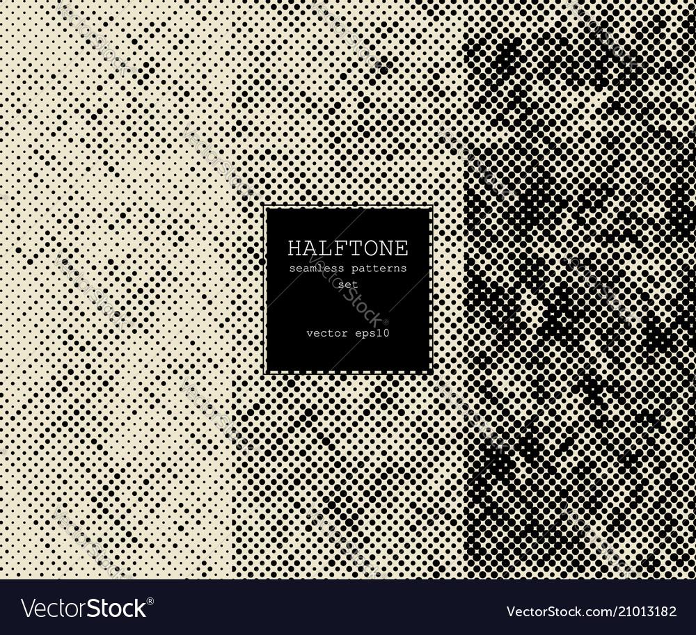 Halftone graphic patterns